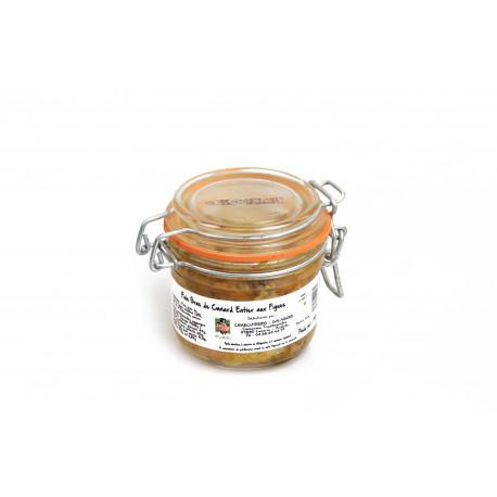 Foie gras de canard entier aux Figues 190g