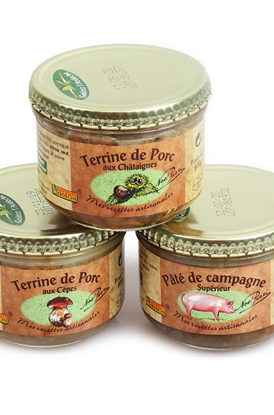 Terrines et foies gras